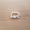 Bear Grizzly Brown Giant Shape Cookie Cutter Dough Biscuit Pastry Fondant Sharp Stencil Honey Animal