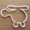 Helicopter Chopper Shape Cookie Cutter Dough Biscuit Pastry Fondant Sharp Stencil Flying