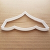 Tent Carpa Theatre Shape Cookie Cutter Dough Biscuit Pastry Fondant Sharp Stencil Marqee Circus Wedding