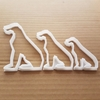 Dog Doberman Dane Pet Shape Cookie Cutter Dough Biscuit Pastry Fondant Sharp Stencil Great Animal Puppy Pooch Irish Wolfhound