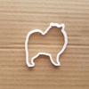 Dog Akita Malamute Chow Shape Cookie Cutter Dough Biscuit Pastry Fondant Sharp Stencil Animal Pet