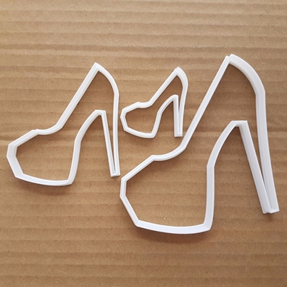 Shoe High Heel Stiletto Shape Cookie Cutter Dough Biscuit Platform Fondant Sharp Stencil Platform Heels