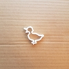 Duck Goose Geese Pond Shape Cookie Cutter Dough Biscuit Pastry Fondant Sharp Stencil Animal Bird Easter Chick