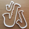 Saxophone Instrument Shape Cookie Cutter Dough Biscuit Pastry Fondant Sharp Stencil Musical Music Brass
