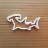 Hammerhead Shark Predator Shape Cookie Cutter Dough Biscuit Pastry Fondant Sharp Stencil Fish Sea Ocean Beach