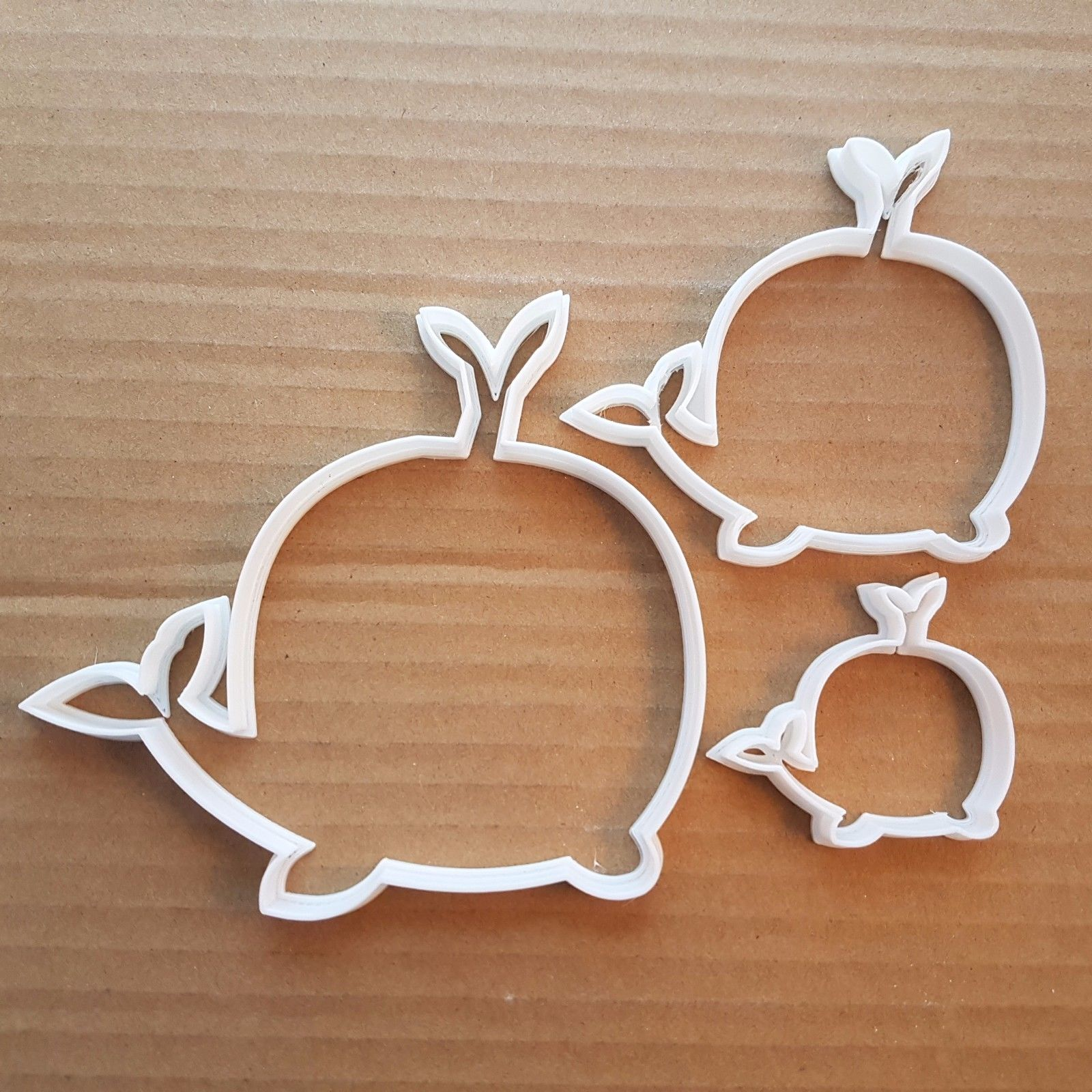 whale squirt sea ocean shape cookie cutter dough biscuit