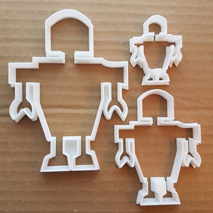 Robot Machine Droid Bot Shape Cookie Cutter Dough Biscuit Pastry Fondant Sharp Stencil Android Machine