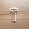 Mallet Hammer Croquet Shape Cookie Cutter Dough Biscuit Pastry Fondant Sharp Stencil Tool DIY Builder Sport Sledgehammer