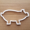 Pig Boar Warthog Farm Shape Cookie Cutter Dough Biscuit Pastry Fondant Sharp Stencil Animal Piglet