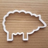 Sheep Lamb Farm Ewe Wool Shape Cookie Cutter Dough Biscuit Pastry Fondant Sharp Stencil Animal Ram Goat