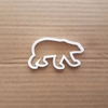 Polar Bear Arctic Mammal Shape Cookie Cutter Dough Biscuit Pastry Fondant Sharp Stencil Animal Snow Grizzly