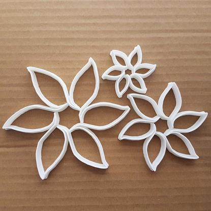 Flower Petal Plant Summer Shape Cookie Cutter Dough Biscuit Pastry Fondant Sharp Stencil Garden Daisy Floral