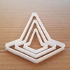 Traffic Cone Council Work Shape Cookie Cutter Dough Biscuit Pastry Fondant Sharp Stencil