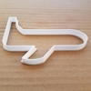 Plane Air Bus Jumbo Jet Shape Cookie Cutter Dough Biscuit Pastry Fondant Sharp Aeroplane Stencil Vehicle