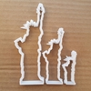 Statue Of Liberty USA Shape Cookie Cutter Dough Biscuit Pastry Fondant Sharp Stencil Landmark United States Of America New York
