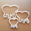 Heart Blood Love Shape Cookie Cutter Stencil Dough Biscuit Pastry Fondant Sharp Valentine's Day Loveheart
