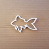 Gold Fish Tank Pet Shape Cookie Cutter Dough Biscuit Pastry Fondant Sharp Stencil Animal Sea Creature Ocean Beach