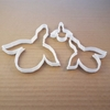 Duck Goose Fly Bird Geese Shape Cookie Cutter Dough Biscuit Animal Fondant Sharp Stencil Animal