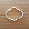 Plaque Cookie Cutter Biscuit Award Pastry Dough Name Frame Message Shaped Prize Sharp Stencil Plate