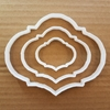 Picture of Plaque Cookie Cutter Biscuit Award Pastry Dough Name Frame Message Shaped Prize Sharp Stencil Plate