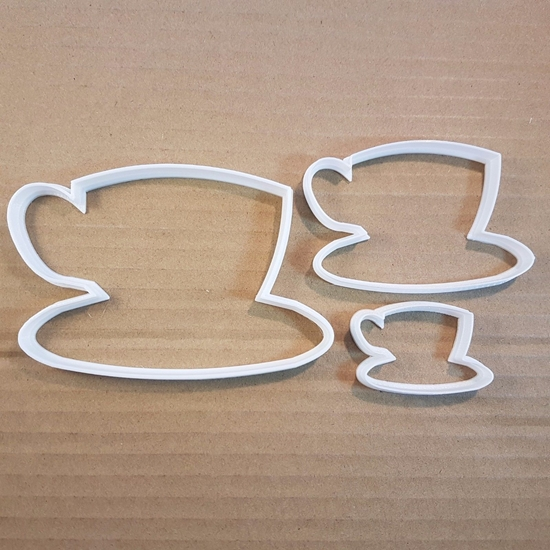 Teacup Mug Coffee Tea Breakfast Shape Cookie Cutter Dough Biscuit Pastry Stencil Cup Sharp Drink