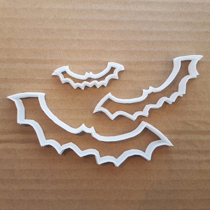 Bat Halloween Scary Shape Cookie Cutter Dough Biscuit Pastry Fondant Sharp Stencil Animal Mammal Spooky