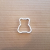 Teddy Bear Cookie Cutter Biscuit Dough Pastry Cuddly Toy Shape Baby Stencil Fondant Sharp Animal Shower