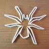 Spider Arachnid Halloween Shape Cookie Cutter Dough Biscuit Pastry Fondant Sharp Stencil Animal Bug Scary