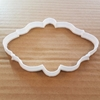 Plaque Frame Mirror Picture Shape Cookie Cutter Dough Biscuit Pastry Stencil Sharp Plate Name Prize