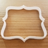 Plaque Mirror Tablet Brooch Shape Cookie Cutter Dough Biscuit Pastry Stencil Sharp Name Plate Prize Frame