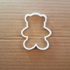 Teddy Bear Shape Cookie Cutter Dough Biscuit Pastry Sharp Stencil Animal Cute Baby Shower Toy Soft Plush Fondant