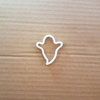 Ghost Scary Halloween Shape Cookie Cutter Dough Biscuit Pastry Stencil Sharp Fondant Ghoul Haunted Spooky Spirit Poltergeist