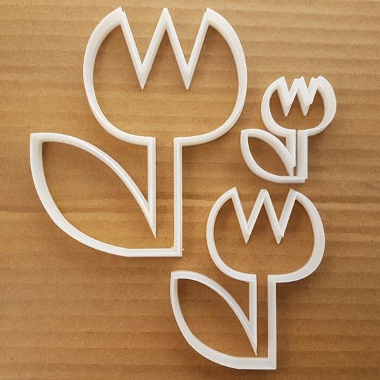 Flower Plant Leaf Grow Shape Cookie Cutter Dough Biscuit Pastry Fondant Sharp Stencil Flowers Petal Garden