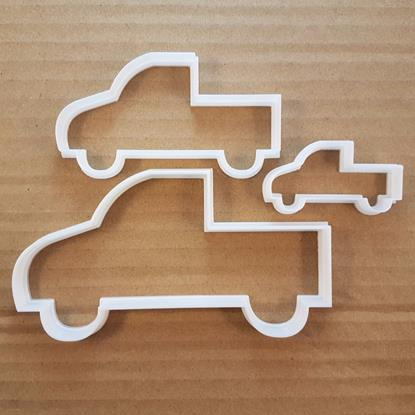 Truck Pick Up Ford Ute Shape Cookie Cutter Dough Biscuit Pastry Fondant Sharp Stencil Car Station Wagon Automobile Auto Mobile