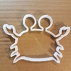 Crab King Hermit Claws Shape Cookie Cutter Animal Biscuit Pastry Fondant Sharp Dough Stencil Sea Creature Beach Ocean Crustacean