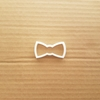 Dickie Bow Shape Cookie Cutter Tie Dough Biscuit Pastry Shape Formal Fondant Stencil Sharp Clothing Party Wedding Tuxedo
