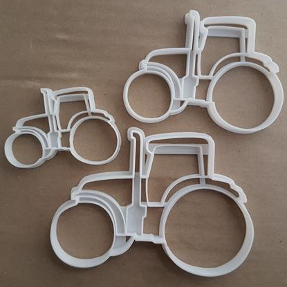 Tractor Farm Agriculture Shape Cookie Cutter Dough Biscuit Pastry Fondant Stamp Stencil Sharp Farmer Vehicle