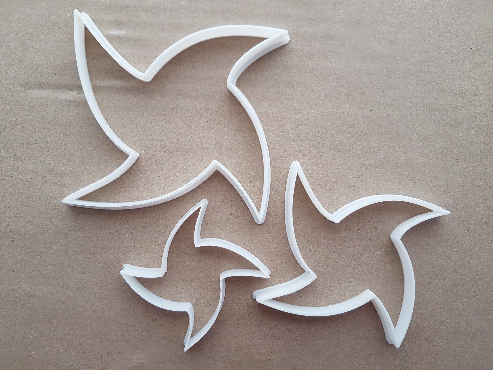 Flower Star Petal Plant Shape Cookie Cutter Dough Biscuit Pastry ...