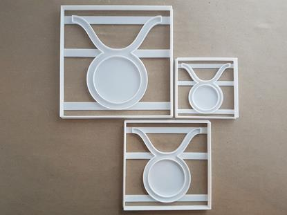 Star Sign Taurus Symbol Shape Cookie Cutter Dough Biscuit Pastry Fondant Stamp Stencil Sharp Astrological Astrology