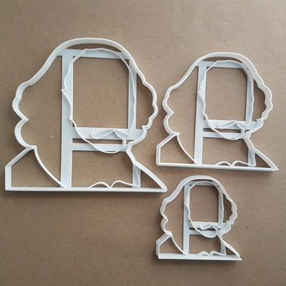 William Shakespeare Portrait Shape Cookie Cutter Dough Biscuit Fondant Stamp Stencil Sharp Famous Person Head English