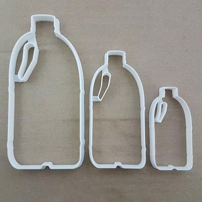 Milk Bottle Plastic Shape Cookie Cutter Dough Biscuit Pastry Fondant Stamp Stencil Sharp Cow Drink