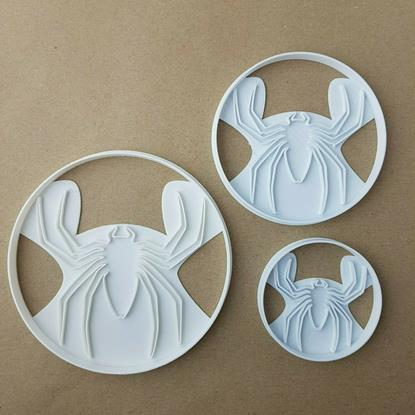 Spider Halloween Animal Shape Cookie Cutter Dough Biscuit Pastry Fondant Stamp Stencil Sharp Scary Spooky Insect Bug